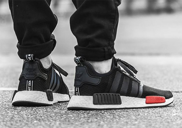 adidas NMD R1 Black Red Release Date