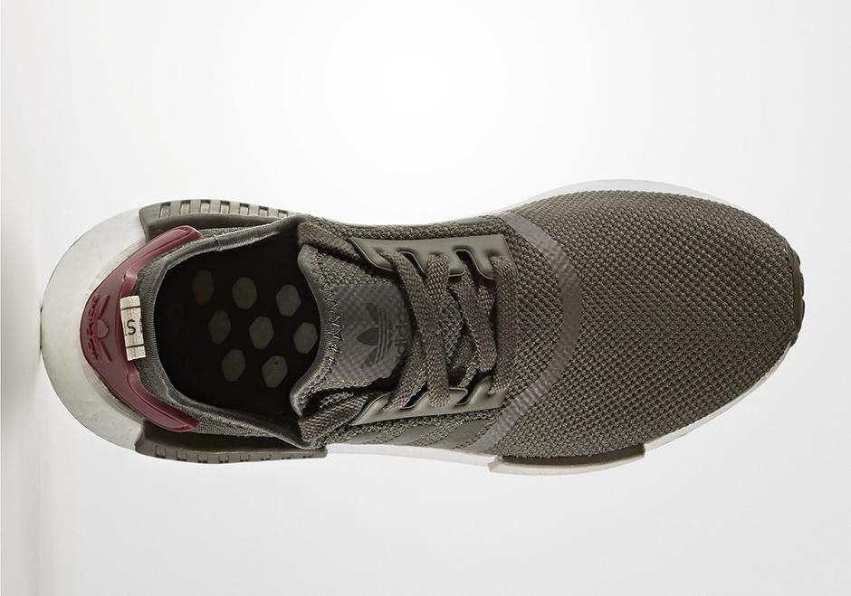 Marron Olive Femmes Adidas Nmd R1 PnD7q