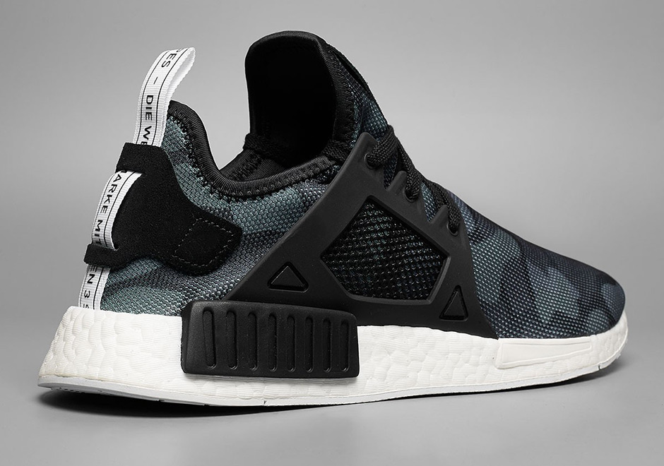 ADIDAS NMD XR1 CAMO GLITCH ON FEET.
