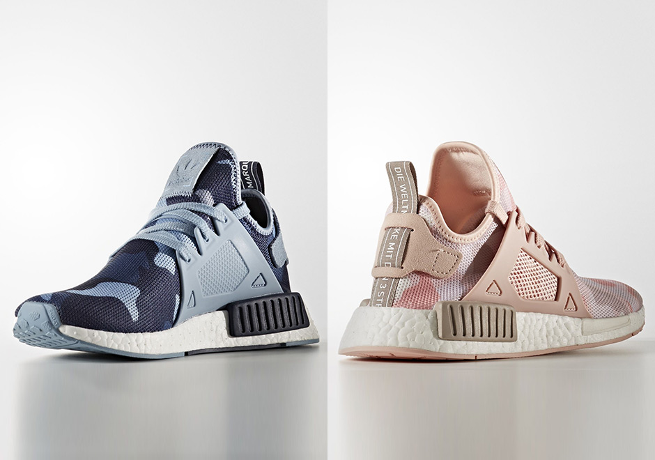 Cheap NMD XR 1 Duck W Duck Camo Pack Pink Sneakers on Sale