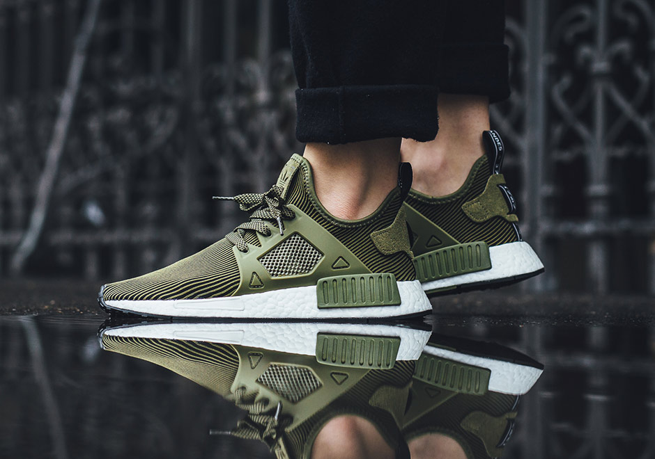 big sale e05db 4c4a7 adidas NMD XR1 Olive Grey S32217  SneakerNews.com