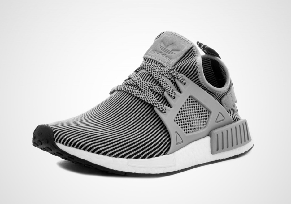 adidas NMD XR1 Primeknit. Color  Light Grey Black Style Code  S32218 Release  Date  November 11 8f4e1c4aa