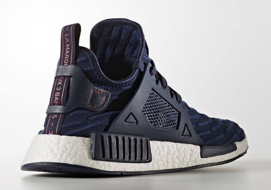 Adidas Nmd Xr1 Blue Striped Primeknit Sneakernews Com