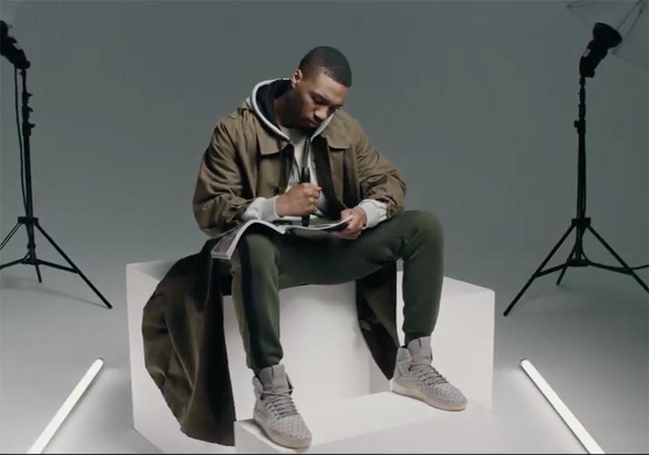 Damian Lillard Stars In adidas Originals Tubular Holiday Lookbook