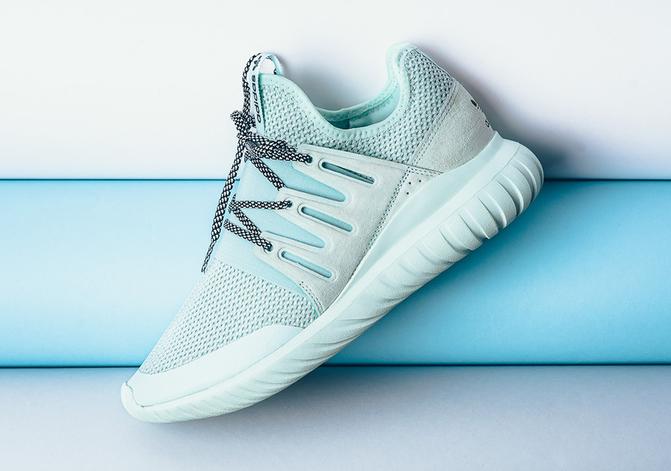Adidas Tubular Radial Ice Mint Available Sneakernews Com