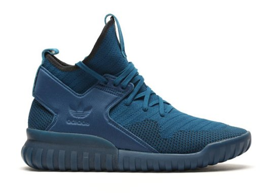 The adidas Tubular X Primeknit Releases In Navy Blue