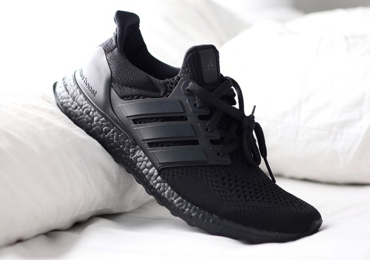 """The adidas Ultra Boost """"Triple Black"""" Releases On December 1st"""