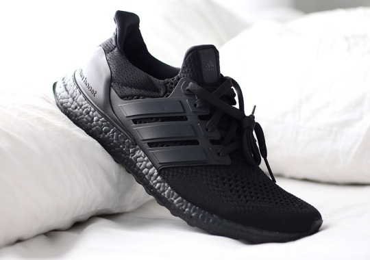 "The adidas Ultra Boost ""Triple Black"" Releases On December 1st"