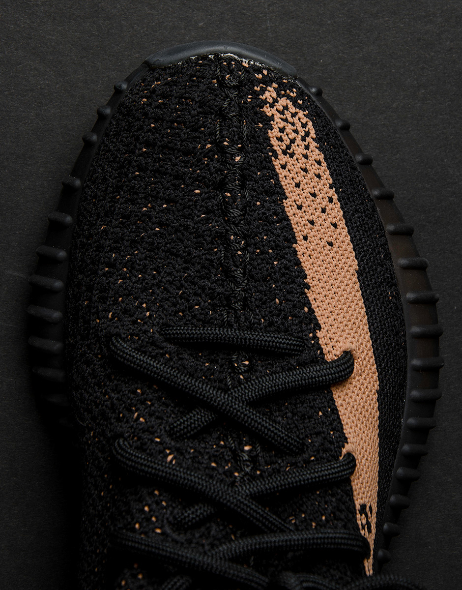 Yeezy Boost 350 V 2 (Black / Copper) Size 12