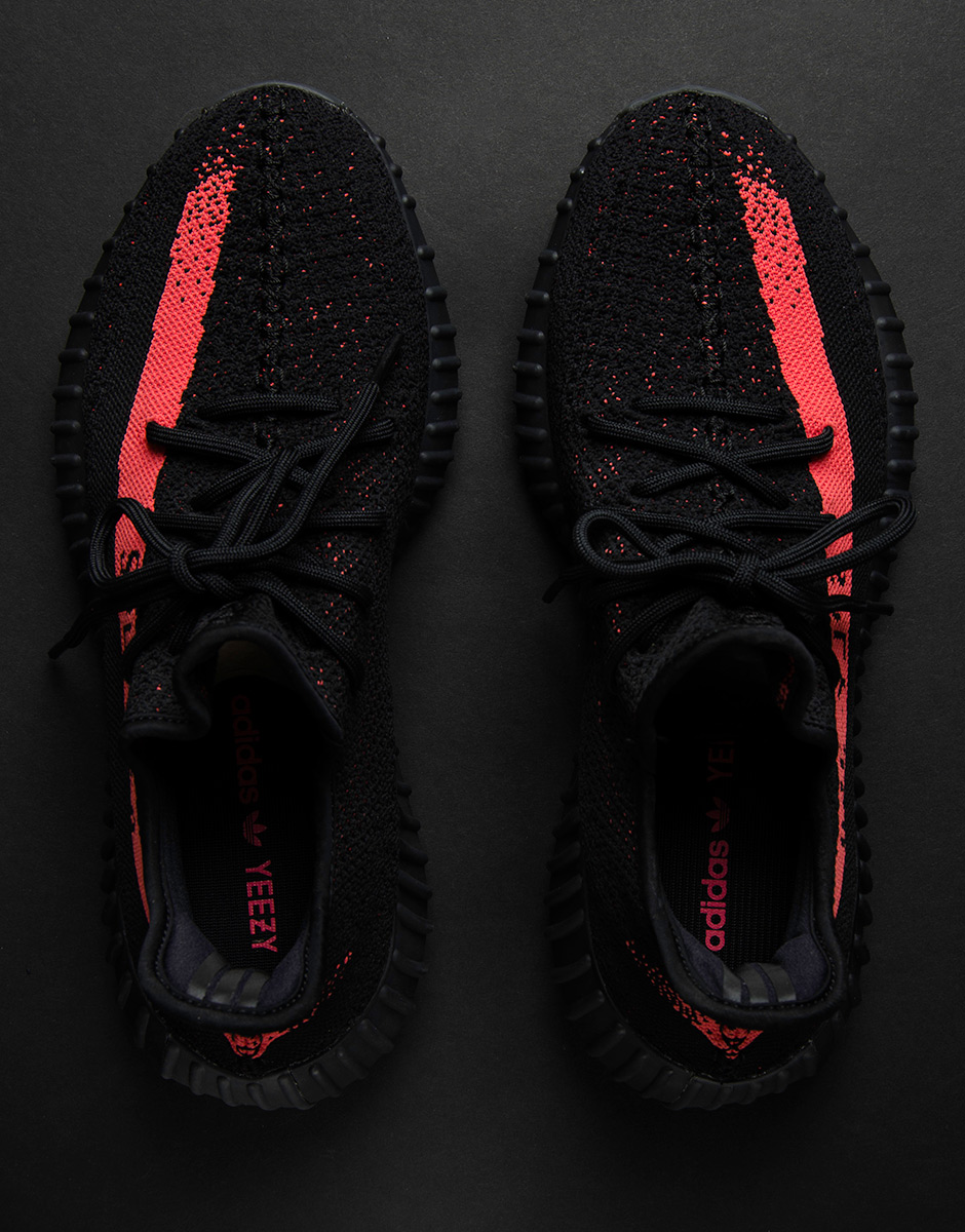 Yeezy Boost 350 Red Black
