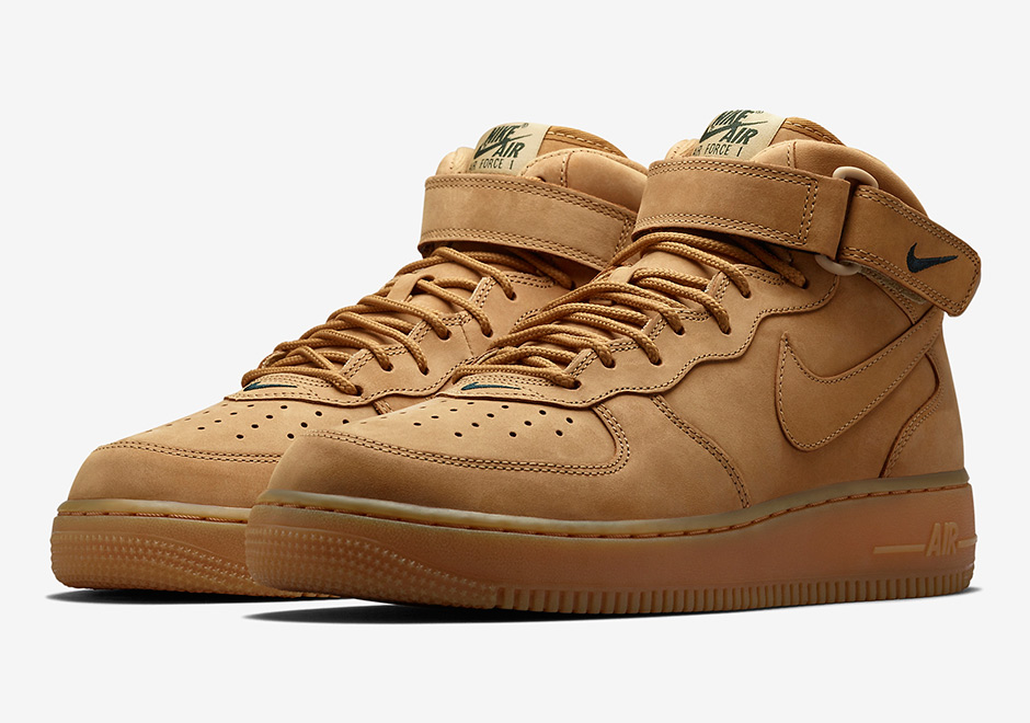 air force 1 mid flax snkrs. Black Bedroom Furniture Sets. Home Design Ideas