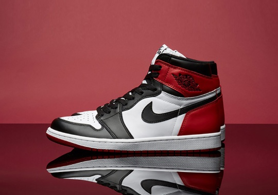 the latest 25fb5 80be1 Yet Another 1985 Original Is Back This Weekend With The Black Toe 1s