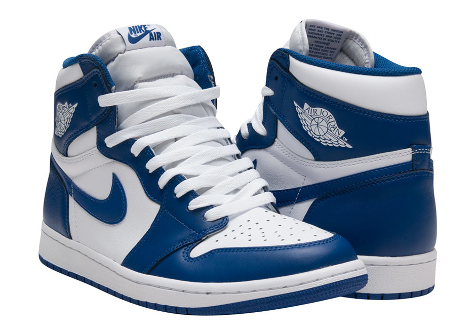 e1e2b03c952 Air Jordan 1 Storm Blue Release Date 555088-127 | SneakerNews.com