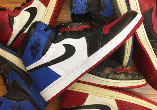 "Comparing The Air Jordan 1 ""Top 3"" With The Actual Originals From 1985"