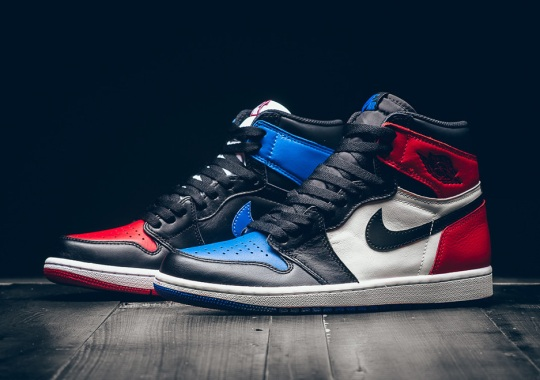 "Air Jordan 1 ""Top Three"" Releasing In Mens And Kids Sizes"