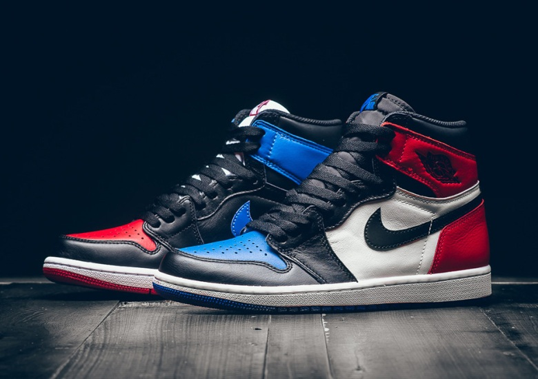 "1f08d77bdc2c Air Jordan 1 ""Top Three"" Releasing In Mens And Kids Sizes"