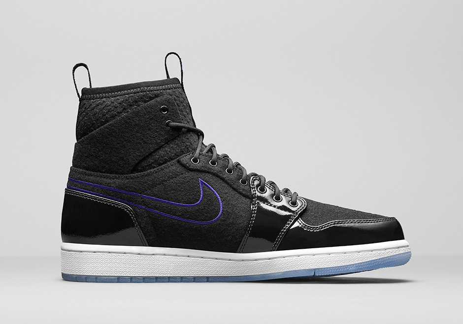 """new style 60ced 60385 Air Jordan 1 Ultra High """"Space Jam"""". Color  Black Concord-White"""