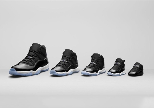 """Expect The Air Jordan 11 """"Space Jam"""" In A Full Family Size Run"""