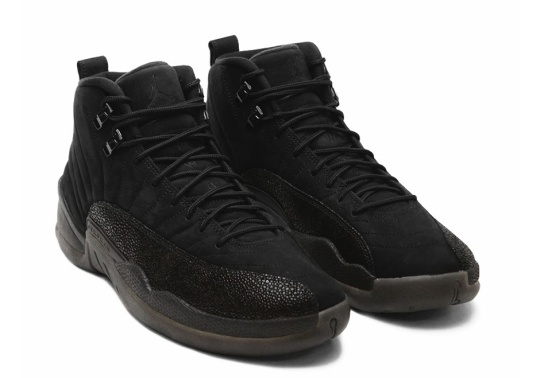 Air Jordan 12 OVO in Black Releasing At All-Star 2017?