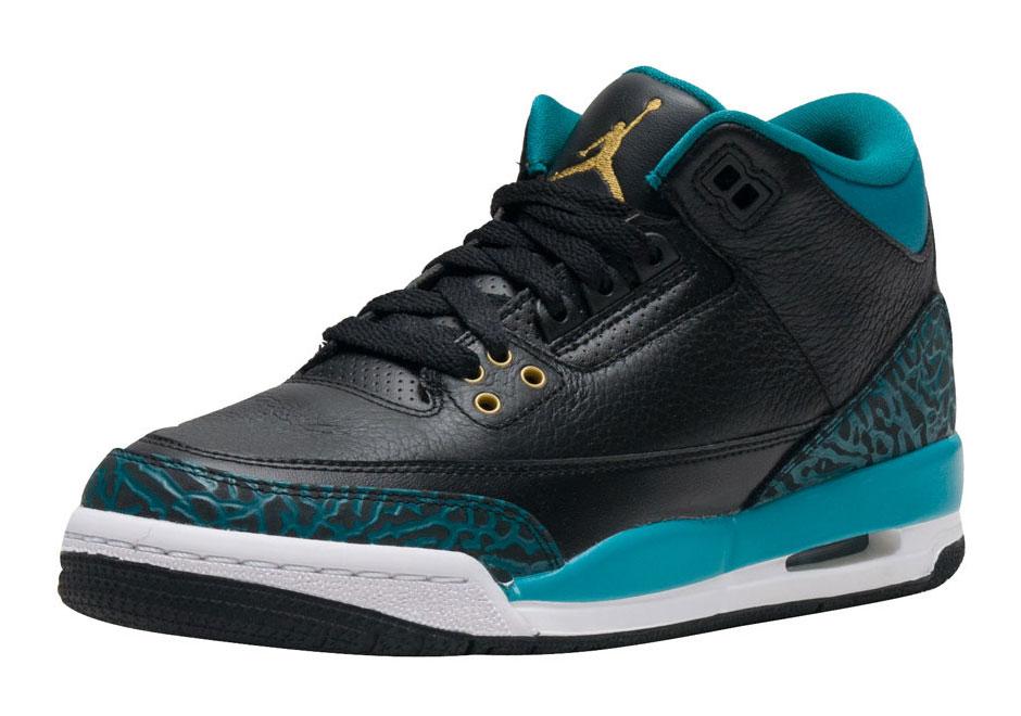 92c026690e1a Air Jordan 3 Teal Kids Release Date