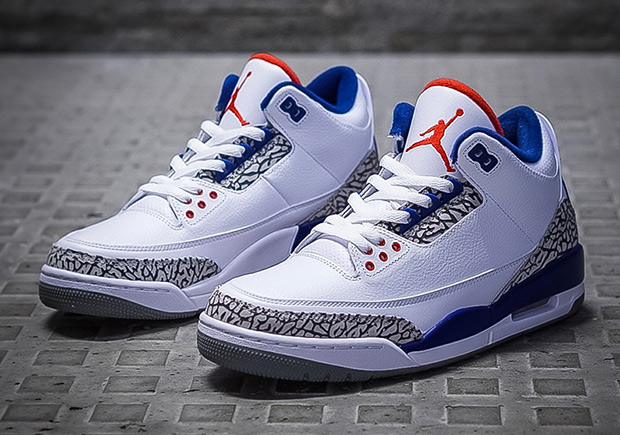 promo code 71624 8dc11 Air Jordan 3 True Blue Where To Buy and Price   SneakerNews.com