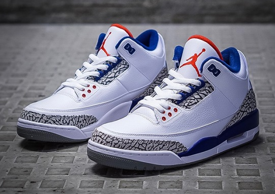 "The Air Jordan 3 ""True Blue"" Won't Be A Limited Release"