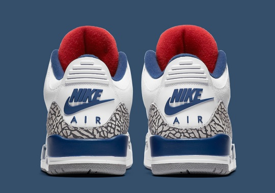 "Air Jordan 3 ""True Blue"" Official Images"