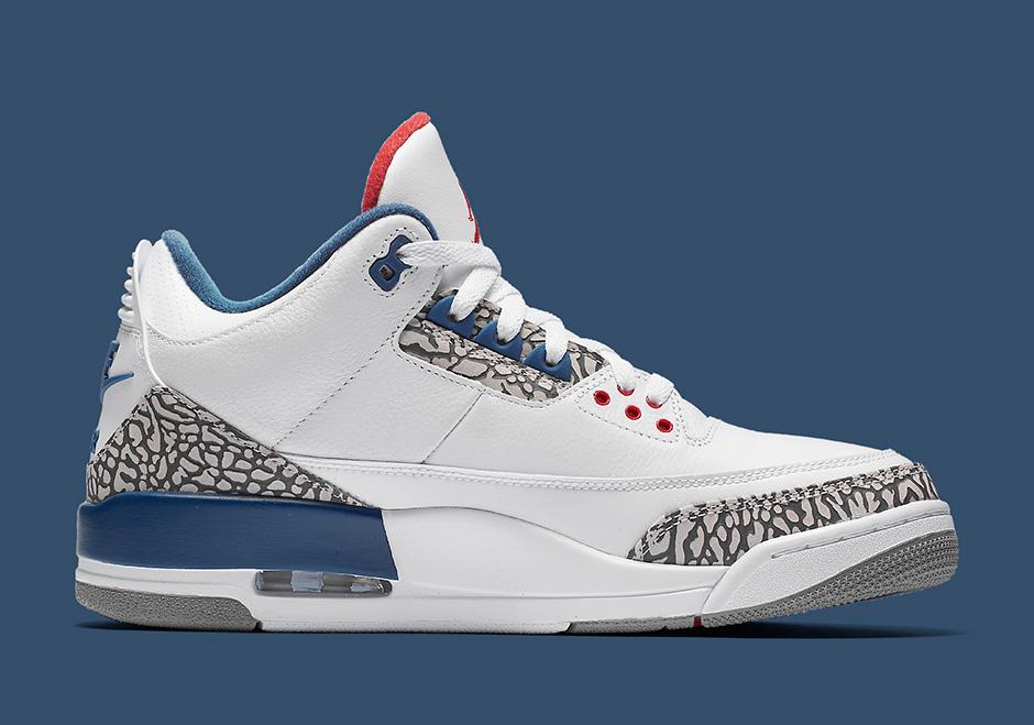 Air Jordan 3 True Blue Official Images