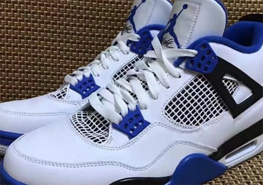 "The Air Jordan 4 ""Motorsports"" Is Coming Back Without Mars Blackmon"