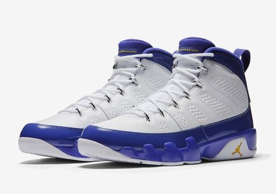 """Official Images Of The Air Jordan 9 """"Kobe Bryant"""""""