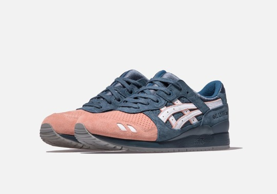 """KITH Just Released The ASICS GEL-Lyte III """"Salmon Toe"""" And """"Militia"""""""