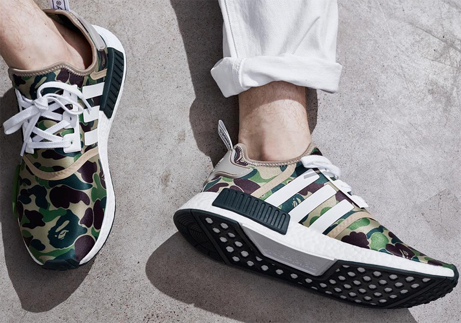 adidas Originals Announces The BAPE NMDs And Upcoming Apparel