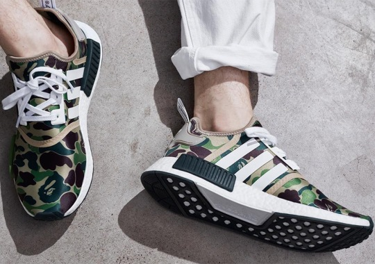 adidas Originals Announces The BAPE NMDs And Upcoming Apparel