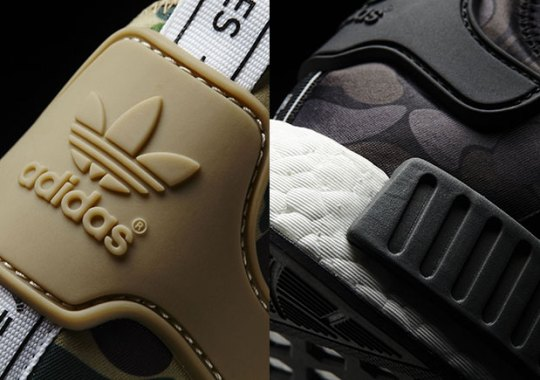 Links To BAPE NMDs On adidas.com