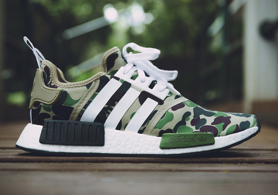 the latest 770b1 eab84 The BAPE x adidas NMD R1 Releases Tomorrow low-cost