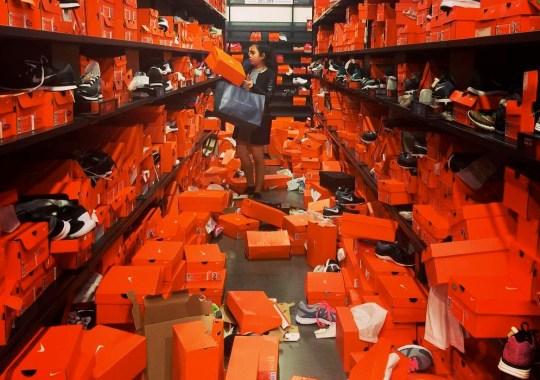Black Friday Sale Destroys Seattle Nike Outlet