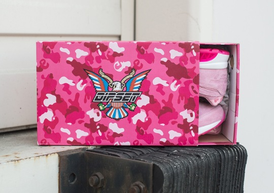 """Cam'ron's Dipset Reeboks Release On """"Pink Monday"""""""