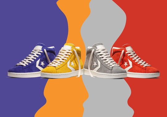 "Converse Pro Leather 76 ""Vintage Suede"" Pack"