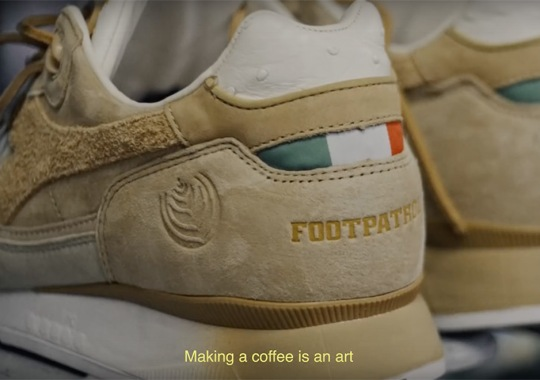 FootPatrol Teases Coffee-Inspired Diadora Collaboration With Short Film