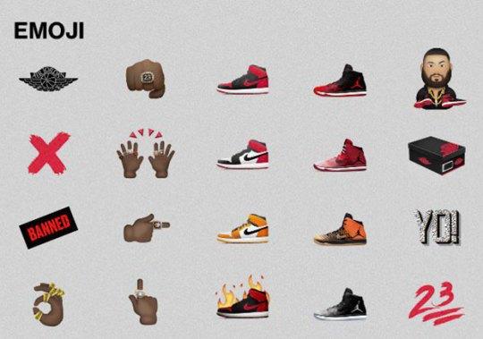 Jordan Brand Set To Debut Emoji Collection Soon