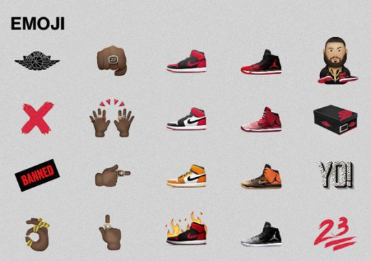 Jordan Brand Set To Debut Emoji Collection Soon