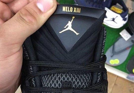 Is This Carmelo Anthony's Next Jordan Signature Shoe?