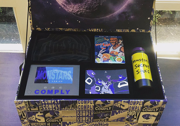 Lamarcus Aldridge Jordan 11 Space Jam Package Sneakernews Com