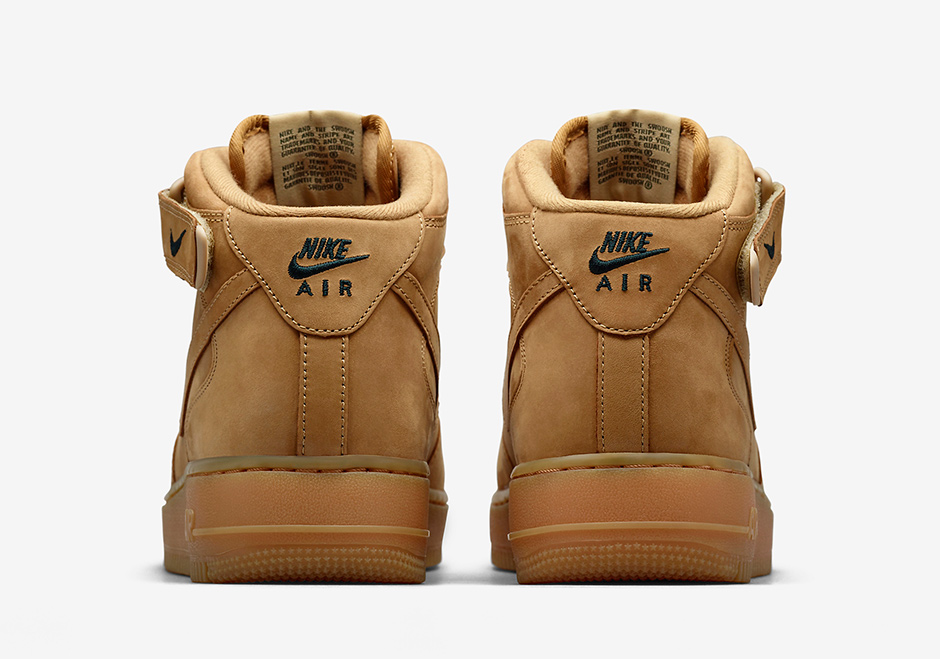 best service e1e44 60f95 Nike Air Force 1 Mid Flax Asia Release Date   SneakerNews.com