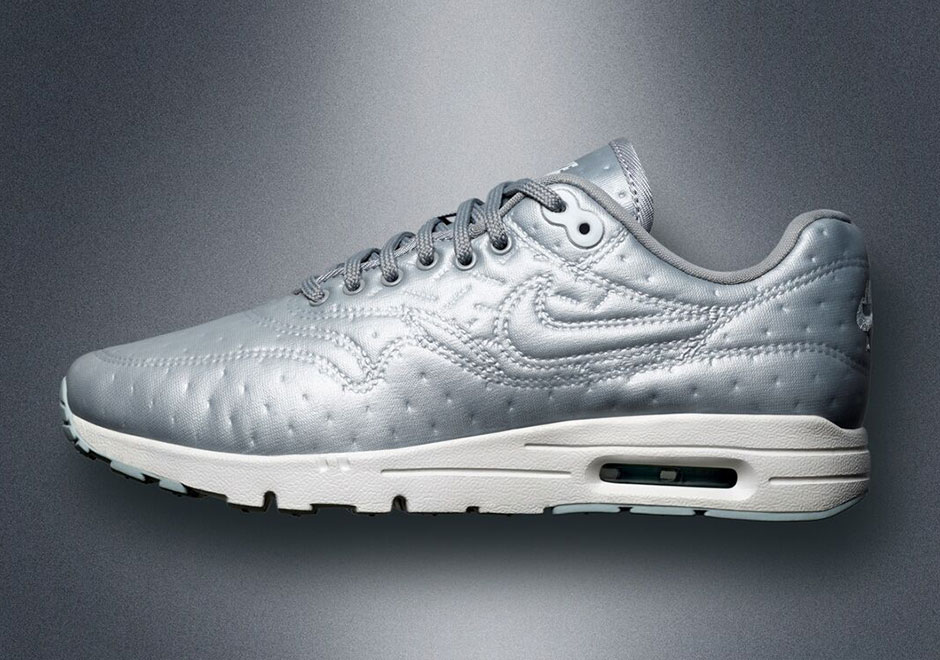 Nike Air Max 1 Premium Metallic Silver 861656 002