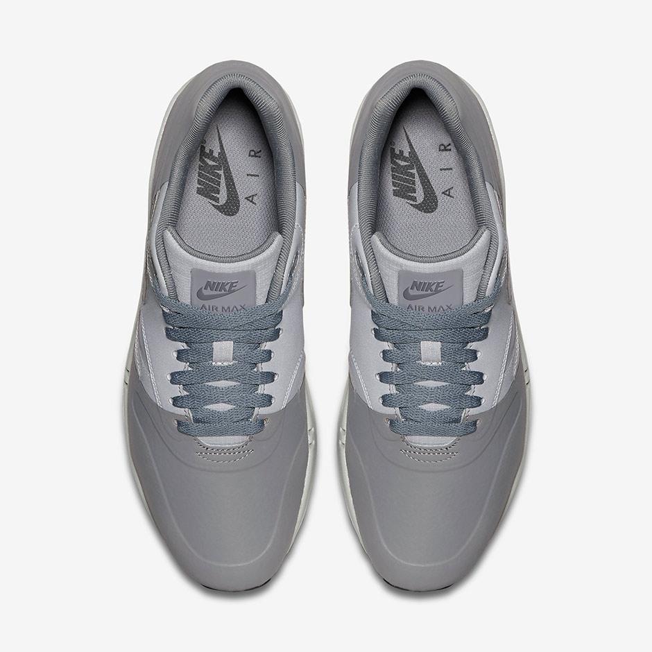 Nike Air Max 1 Premium Gris / Negro / Blanco Adidas v3aze8v