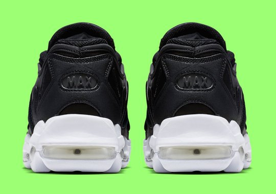 The Nike Air Max 96 XX Releases In Black White b75b04ba2