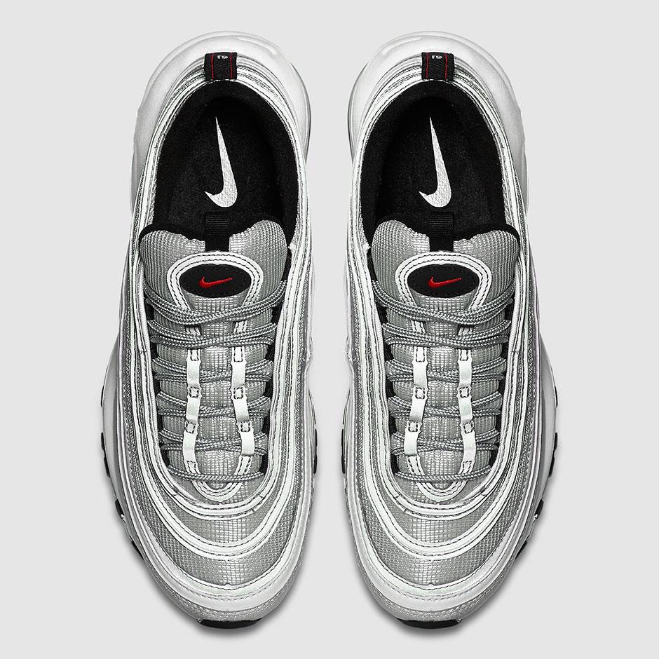 Nike Air Max 97 OG QS 884421-001 Silver