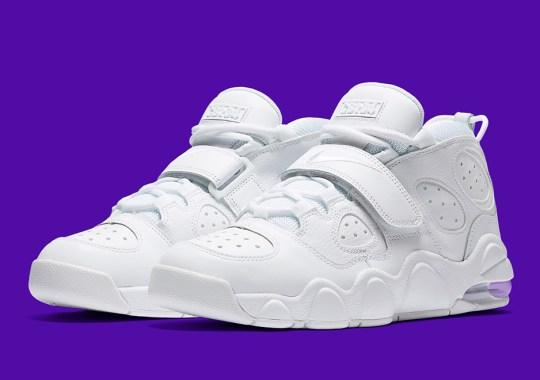 "Charles Barkley's Nike Air Max CB34 Goes ""Triple White"""