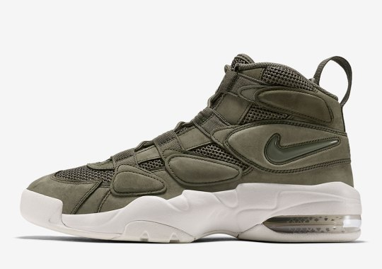 "Nike Air Max Uptempo 2 ""Urban Haze"" Releases On December 20th"